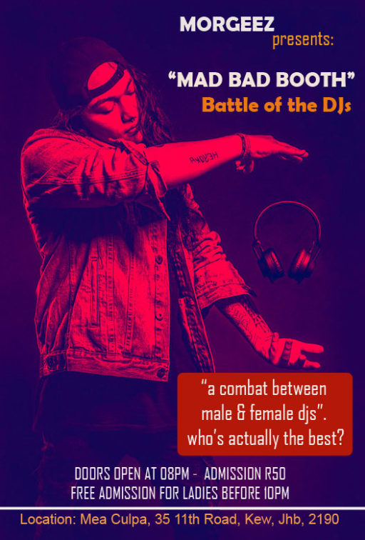 A Battle of Mix between male and Female DJs